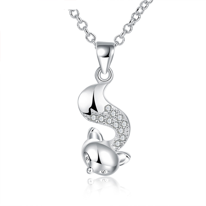 Designed For Women Fashion 925 Silver Jewelry Necklace Pendant LKNSPCN820