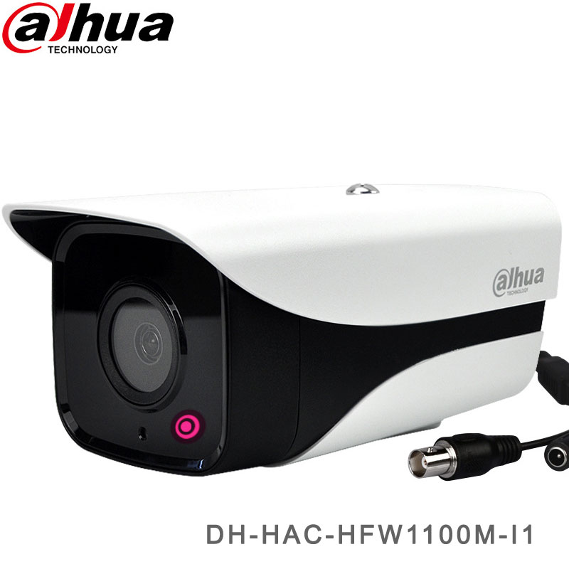 Dahua HDCVI 1MP Security Camera With 30M IR Bullet Camera DH-HAC-HFW1100M-I1