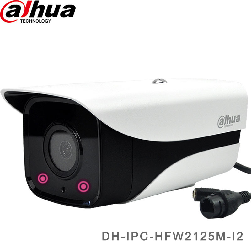 Dahua 1.3MP Security Camera With Double IR Light Bullet Camera DH-IPC-HFW2125M-I2