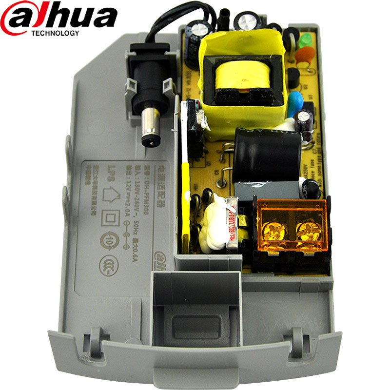 Dahua Monitoring Power Supply Waterproof DC12V2A Power Supply DH-PFM300